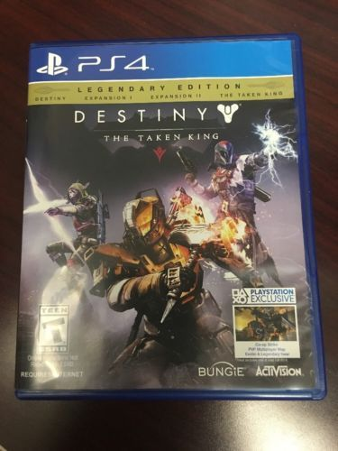 Destiny: The Taken King -- Legendary Edition (Sony PlayStation 4 PS4 2015) https://t.co/OrbuUkDbEY https://t.co/3Cz0Kb1eyR