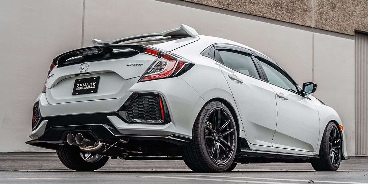 Remark Releases New Catback Exhaust for Civic Sport