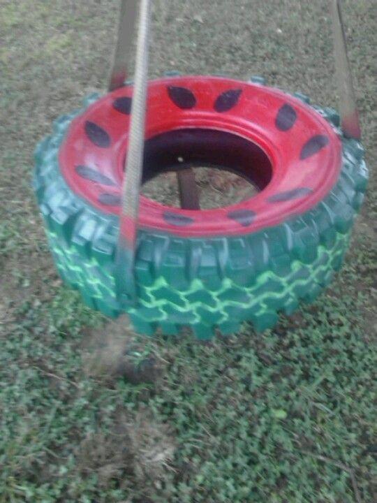 8053c046b6eed3c71d70481849a68c65 Jpg 540 720 Pixels Painted Tires Tire Swing Backyard Creations