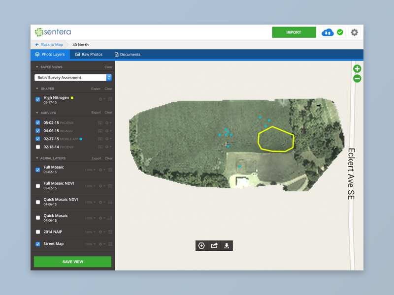 Drone Web App UI | Mobile UI Examples