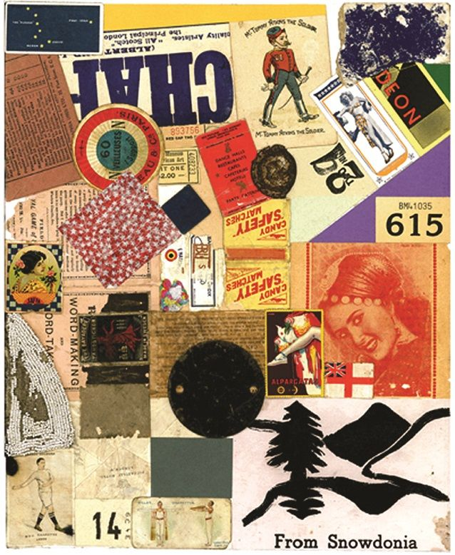 Peter Blake - Deon - Homage to Schwitters