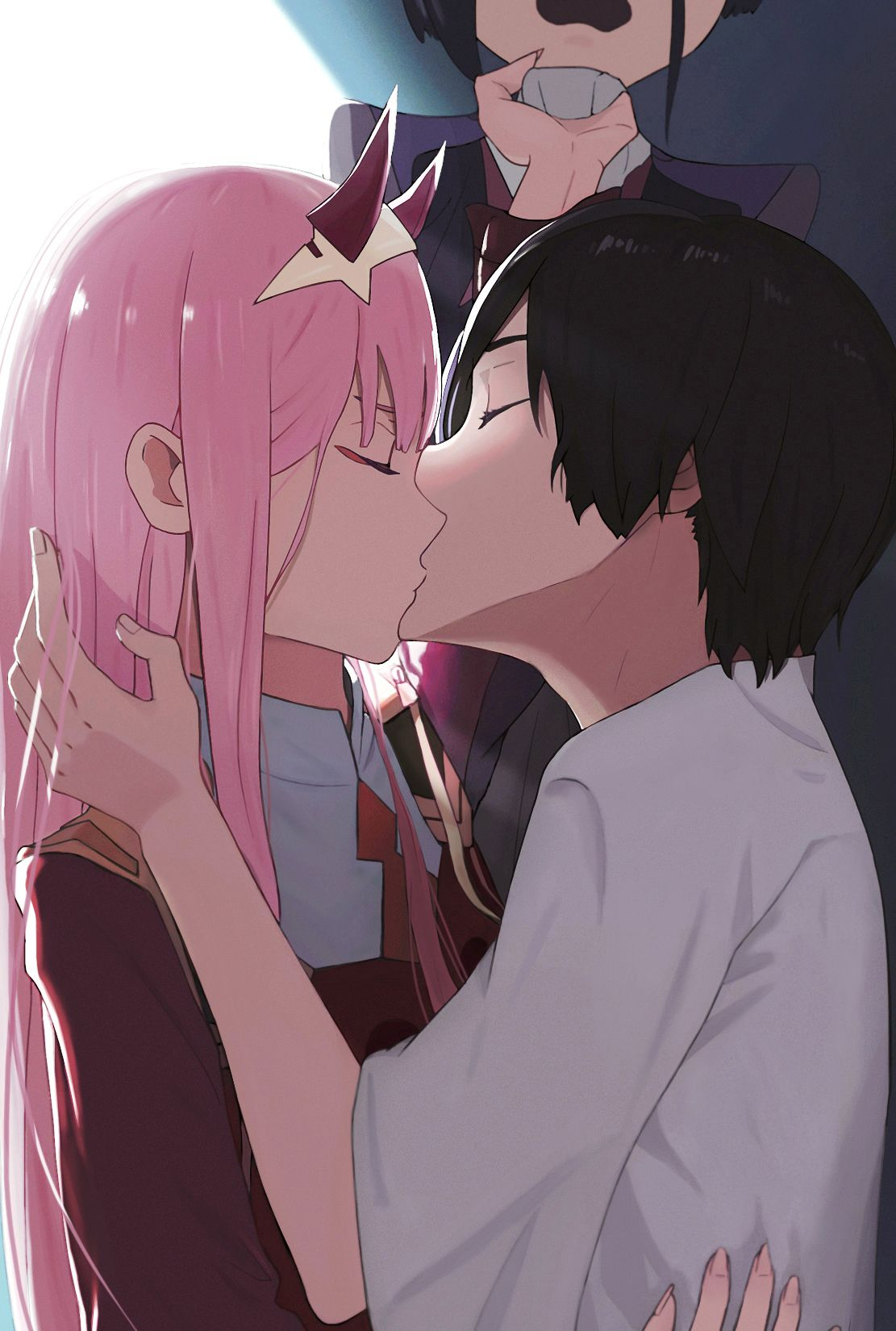 Http Img10 Reactor Cc Pics Post Full Anime Zero Two Darling In The Franxx Darling In The Franxx Hiro Darling Darling In The Franxx Anime Anime Love Couple