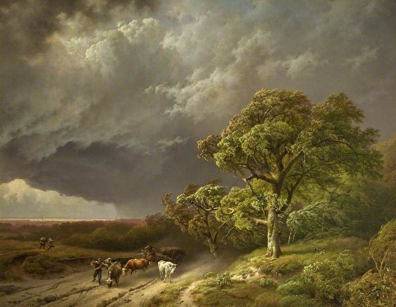BBC - Your Paintings - The Coming Storm