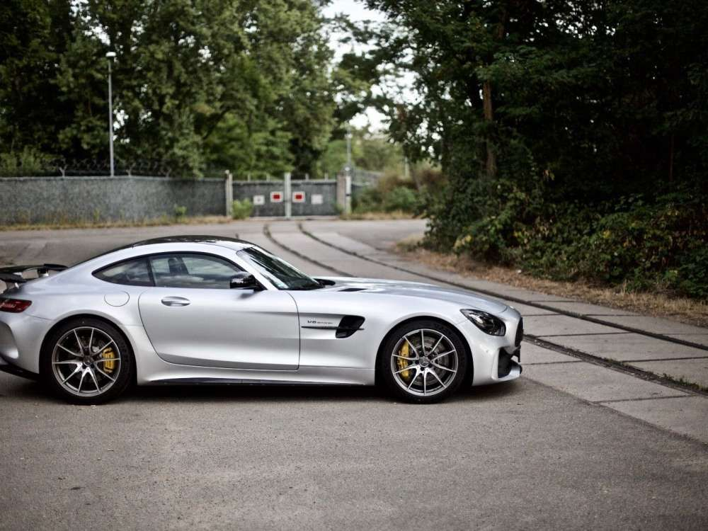 Brabus Mercedes Amg Gt R Coupe Vehicle Id No Mercedes Amg