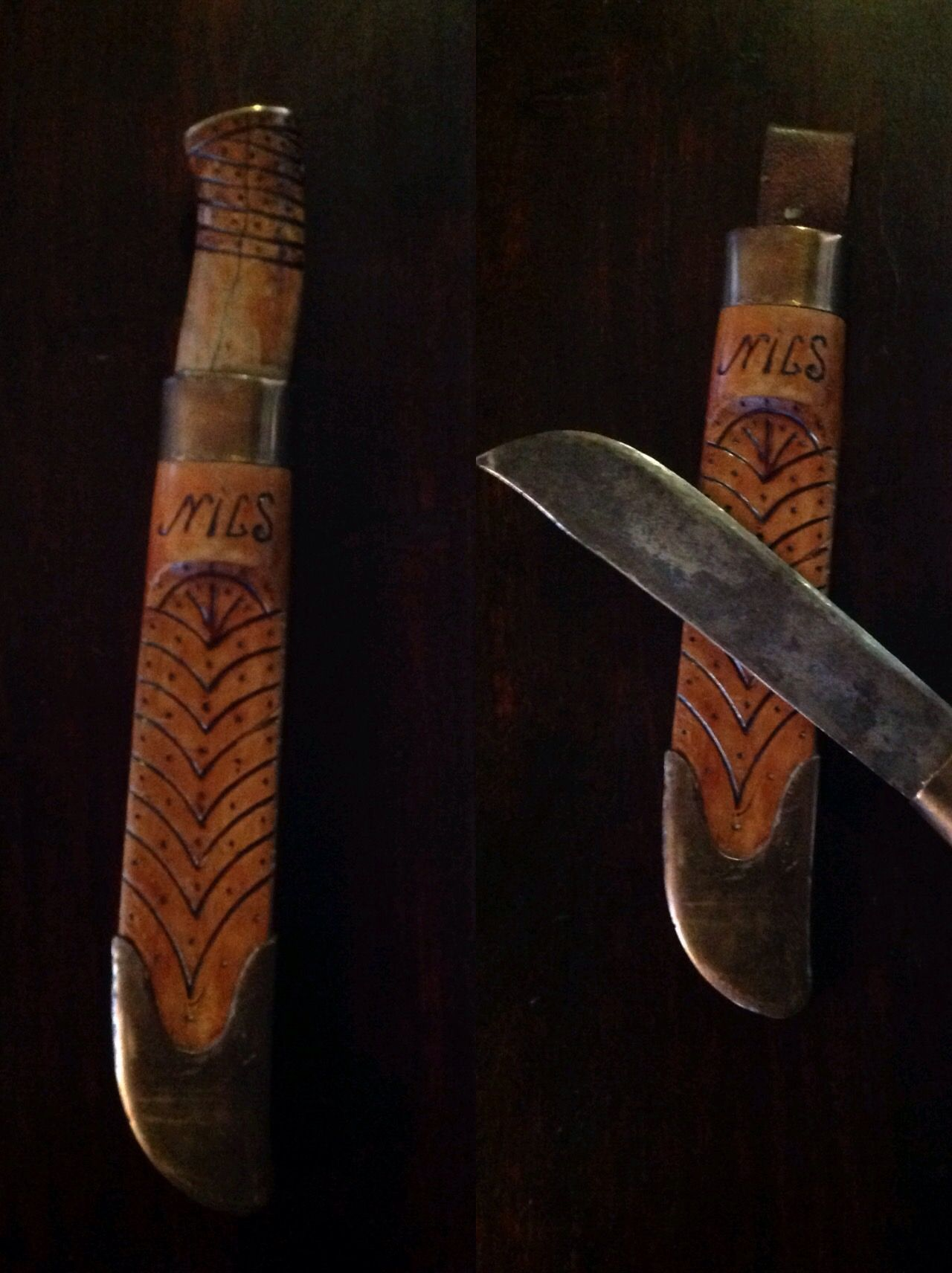 My homemade Finnkniv, a Lappknife.