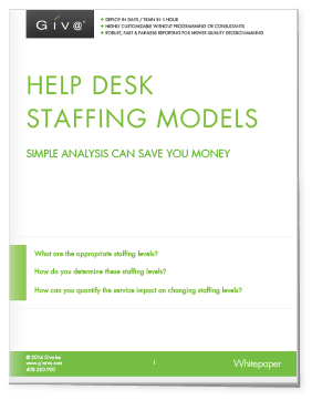 Methodology For Optimizing Help Desk  Customer ServiceCall