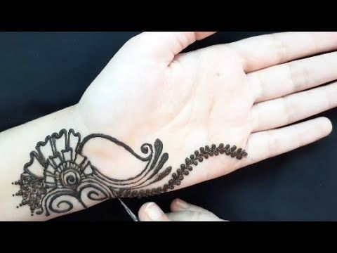 Very Pretty Mehndi Design for front hands|Simple Mehendi| Simple Easy Arabic Mehndi Designs for Hand