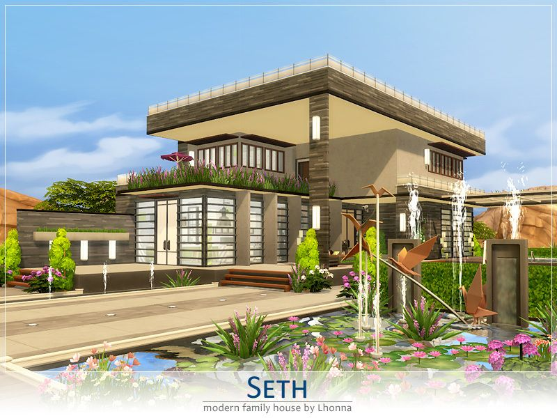 Inside Huge Houses seth is modern, large house for a family. big garden with two