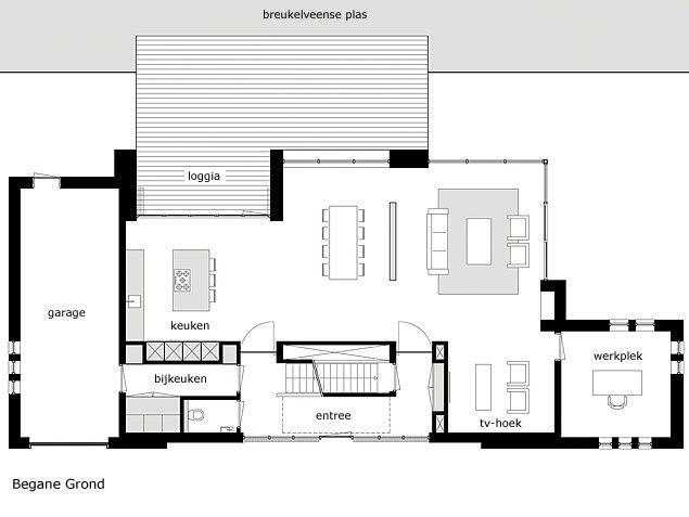 Architect Modern Huis   Moderne Woning In Loosdrecht