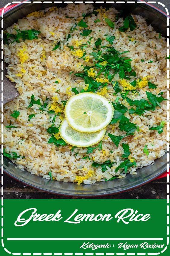 Greek Lemon Rice #greeklemonrice