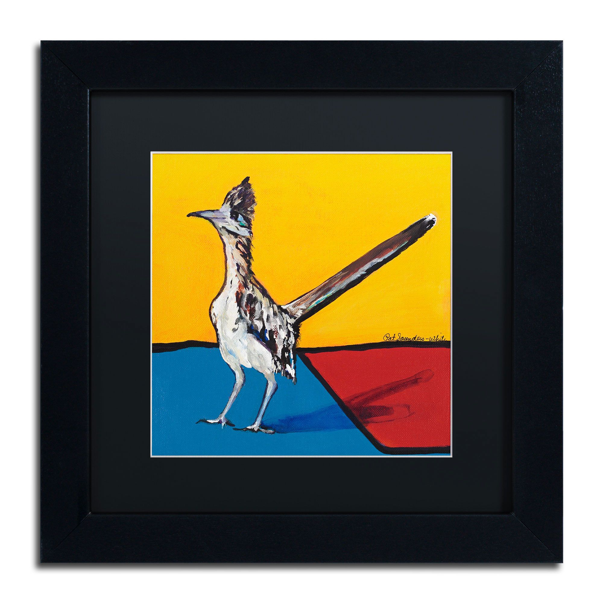On Your Mark by Pat Saunders-White Framed Painting Print | Products