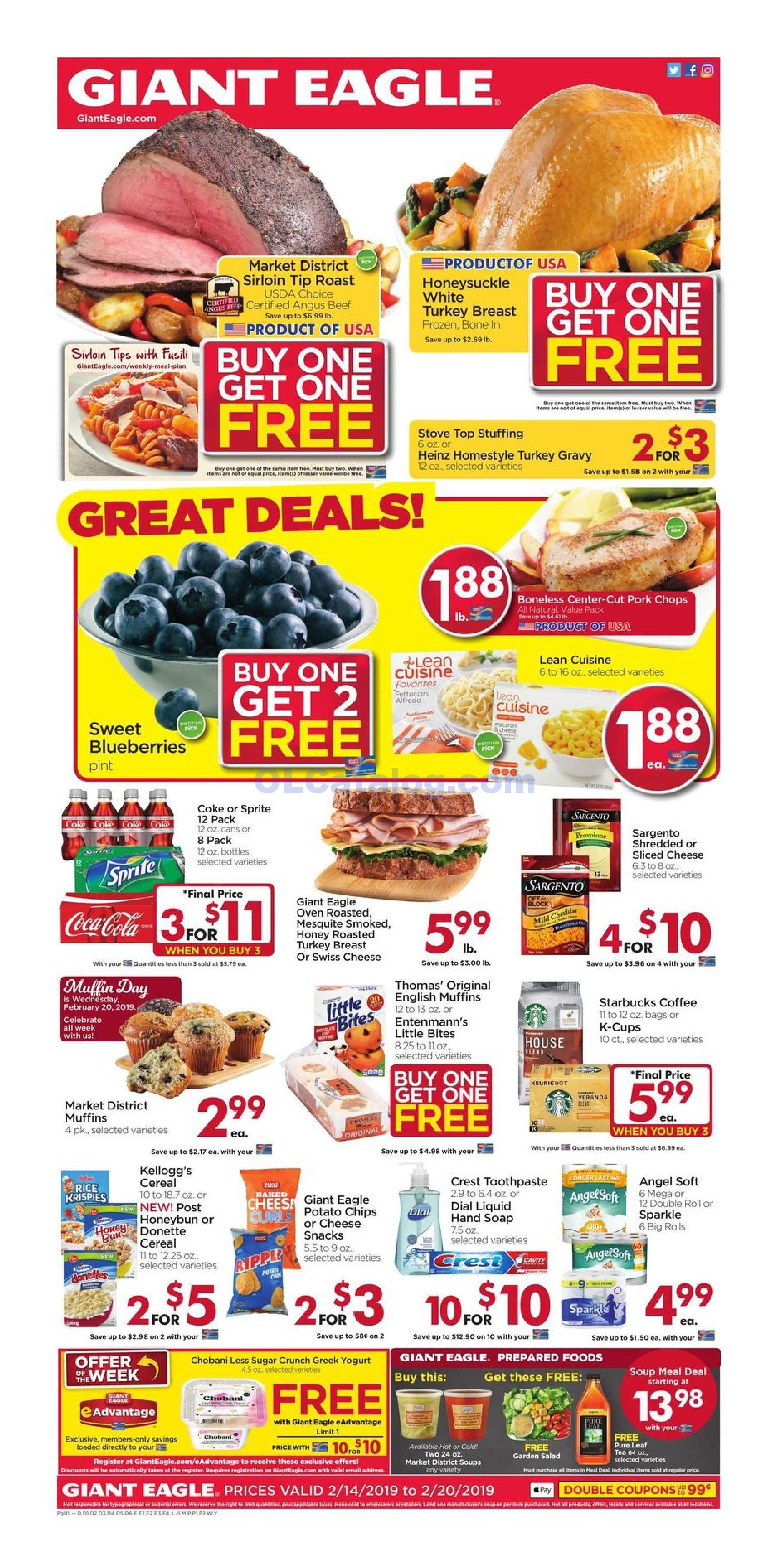 Giant Eagle Weekly Ad Mar 26 Apr 1 2020 Sneak Peek Preview