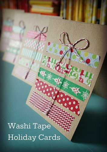 washi tape christmas stitch washi tape projects diy. Black Bedroom Furniture Sets. Home Design Ideas