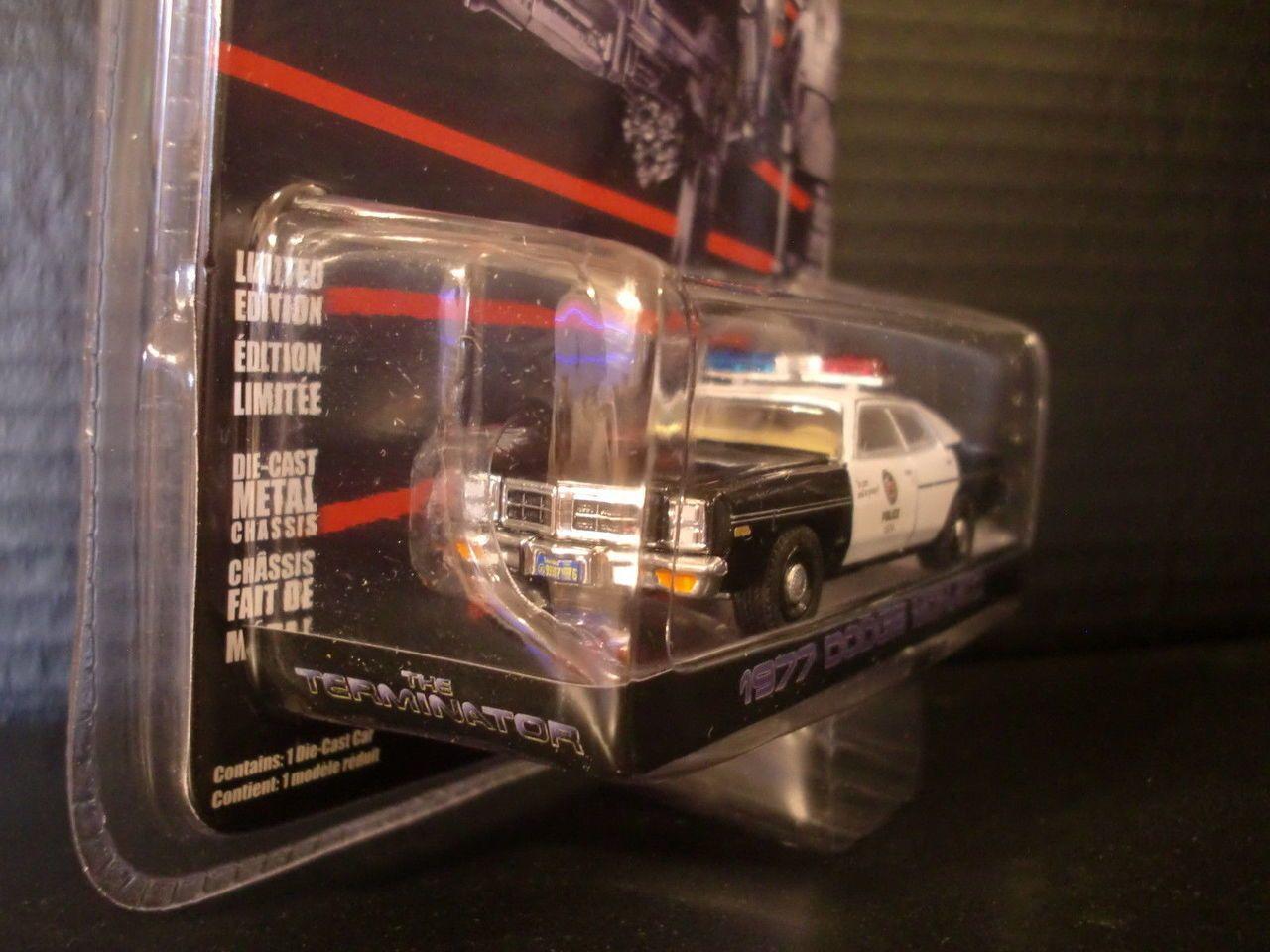 Greenlight Hollywood 19 The Terminator 1977 Dodge Monaco Police Car 1//64 44790C