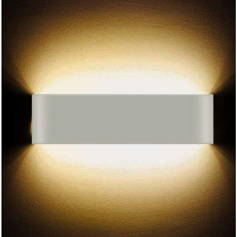 Led Applique Murale 12w Haute Lumineuse Interieure Moderne Lampe