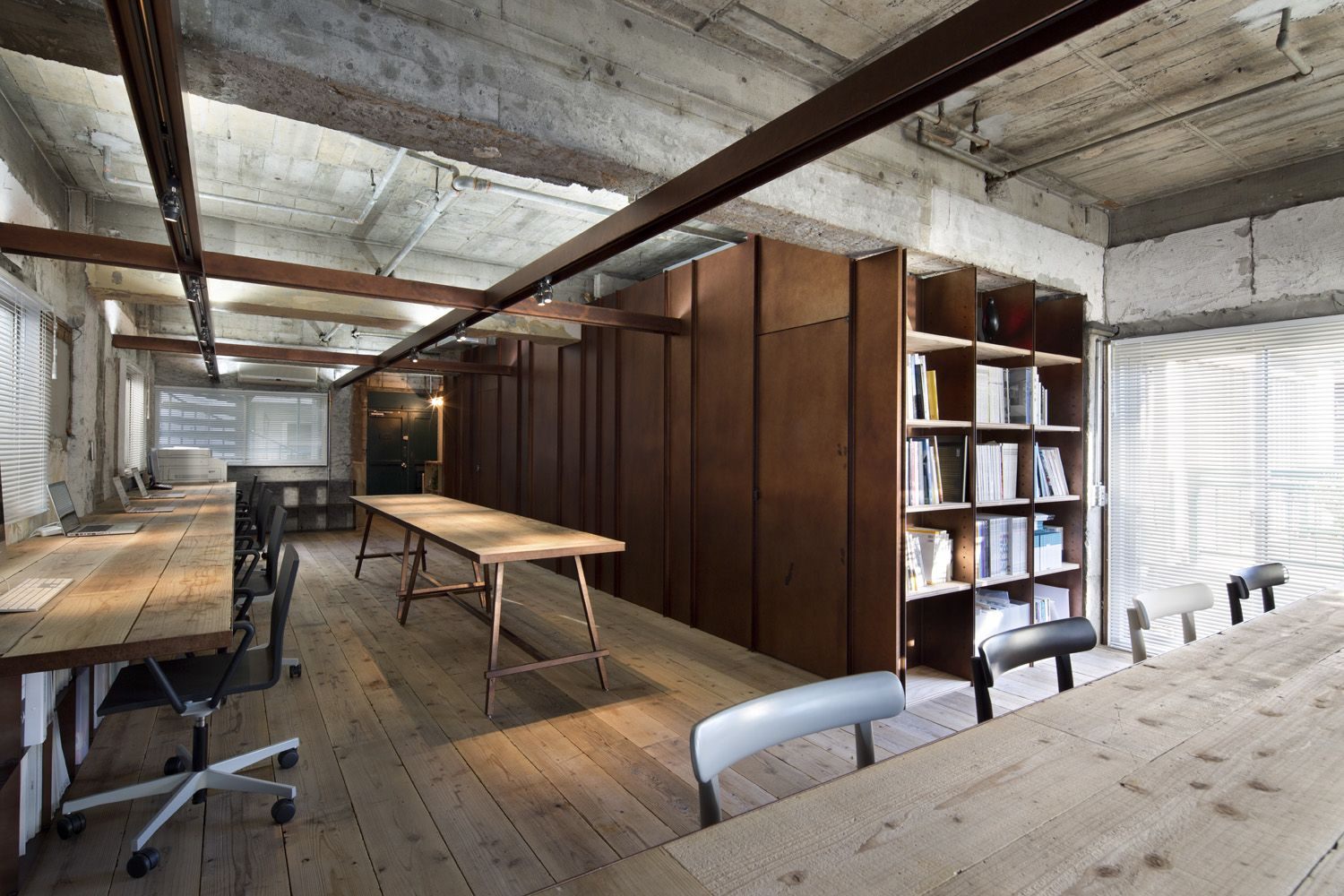 suppose design office toshiyuki. Suppose Tokyo Office Is A Minimalist Interior Located In Tokyo, Japan, Designed By Design Office. The Space Comprised Of Industrialized Materials Toshiyuki O