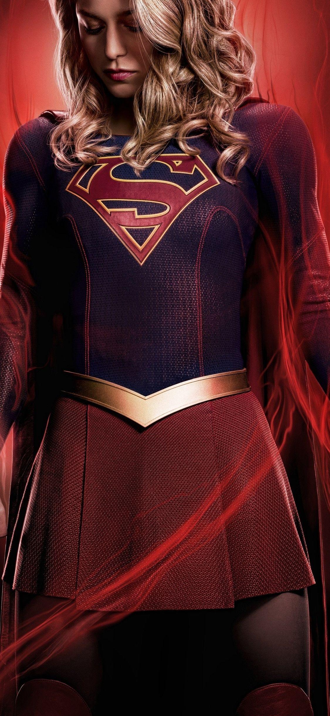 1125x2436 supergirl season 4 4k iphone xsiphone 10iphone