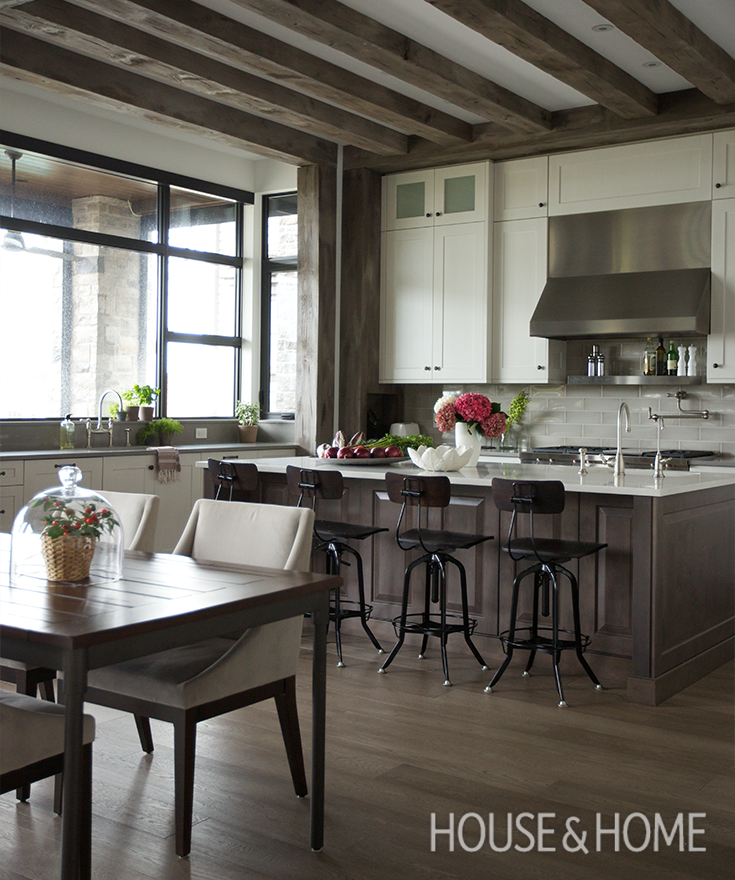 Traditional Open Concept Kitchen: WATCH NOW: This Kitchen Blends Traditional, Modern And
