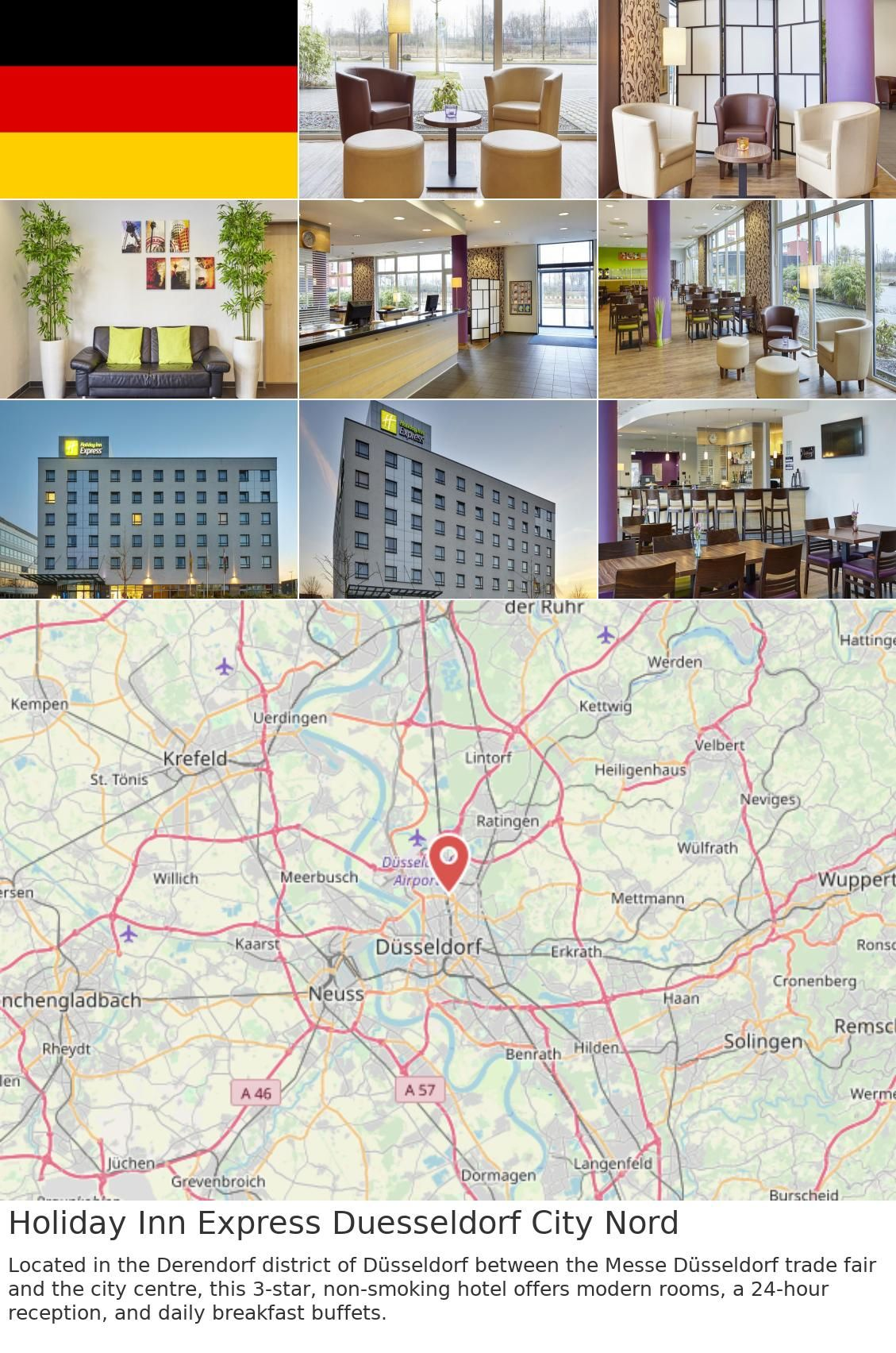 Holiday Inn Express Duesseldorf City Nord в 2019 г. | Germany on dusseldorf subway map, old town dusseldorf map, dusseldorf rail map,