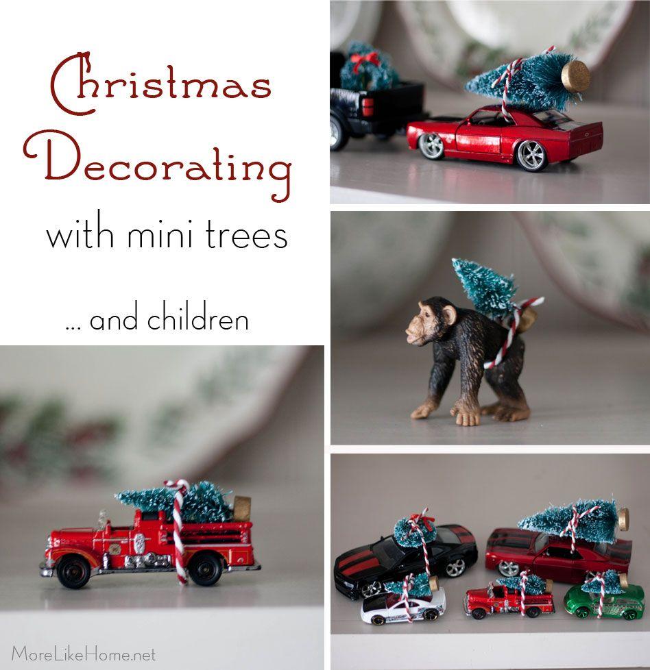 Mini Christmas Tree Decor (perfect for the kids!) | Christmas ...
