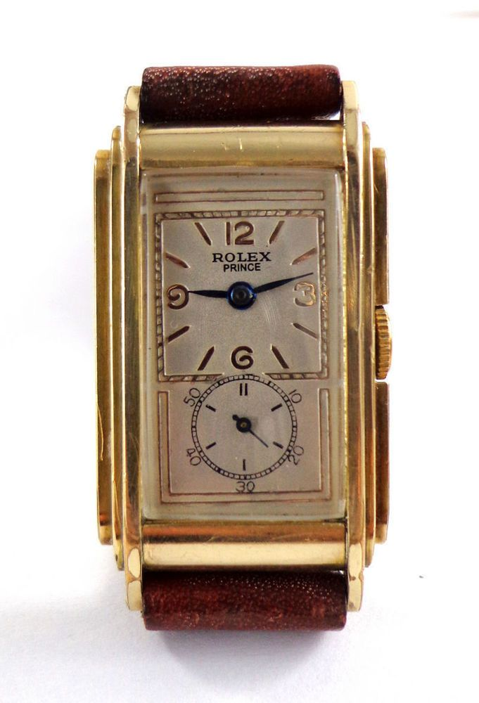 Rolex Prince Railway Doctor S Gold Filled Watch Ref 1527
