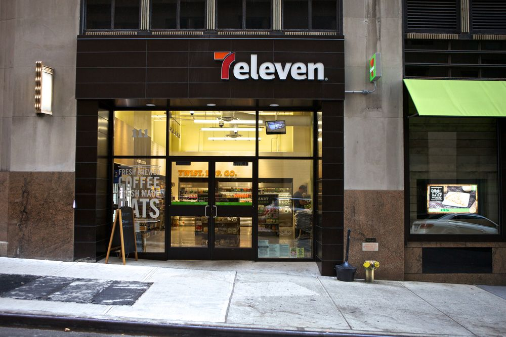 New concept store for 7 eleven by wd partners great work for Convenience store exterior design