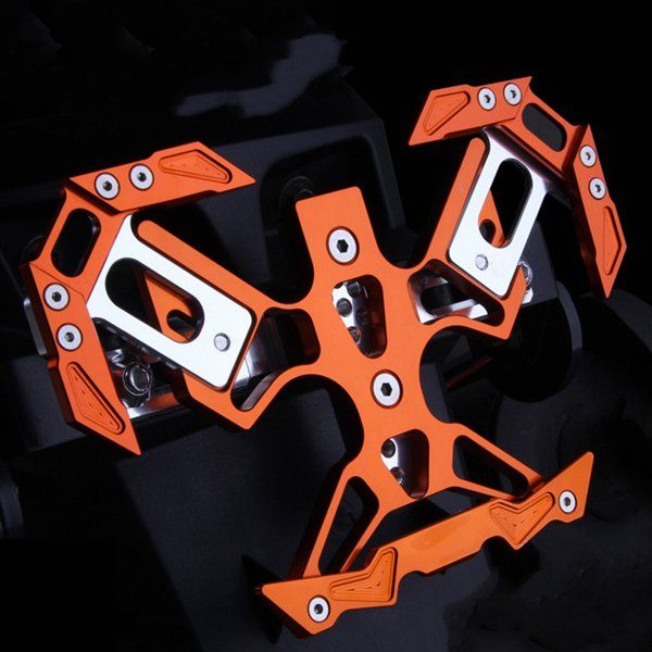 Cnc placa decorativa T6061 marco para moto motocicleta modelo bikeb ...