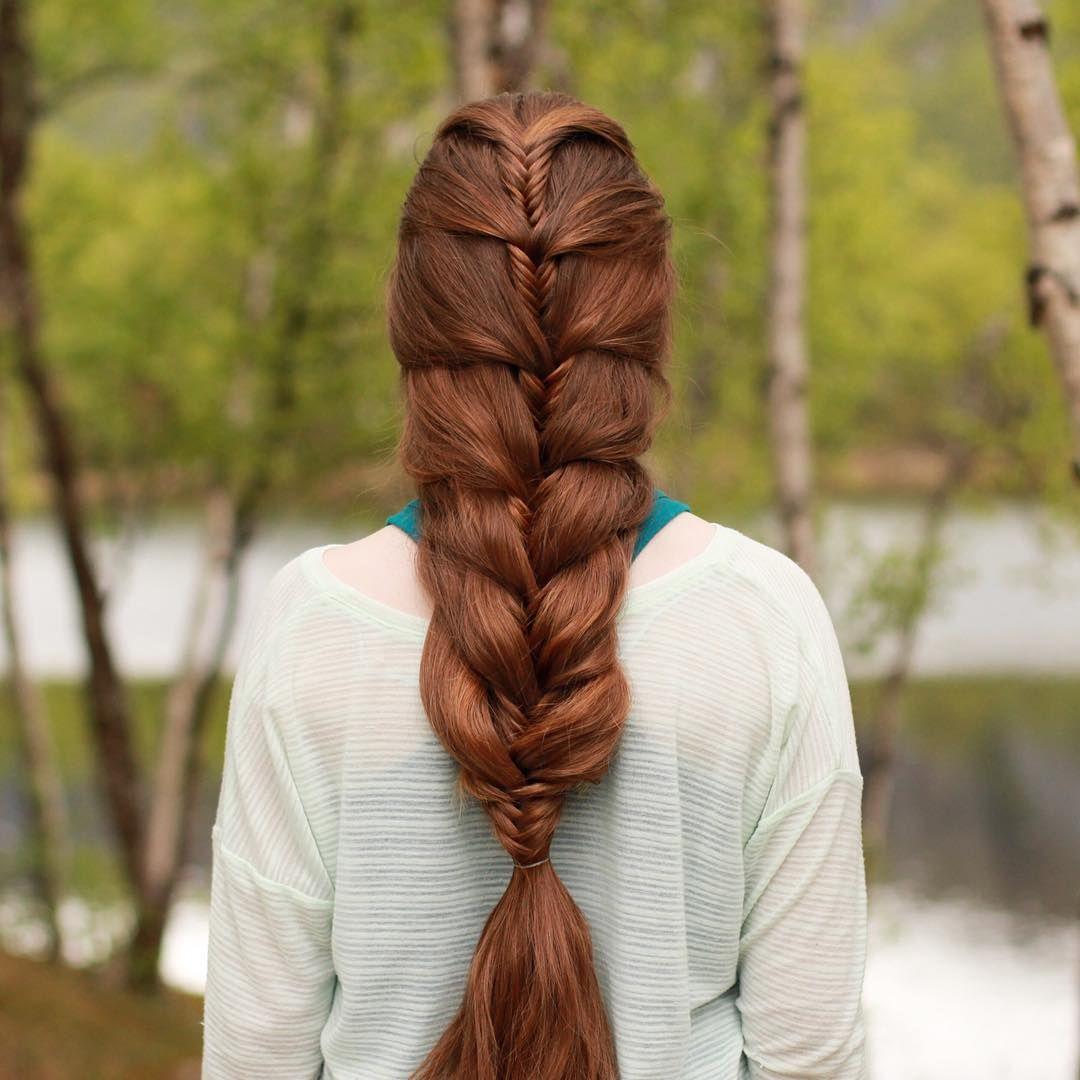 Pin by fer visoso on peinados  Pinterest  Fishtail Instagram and