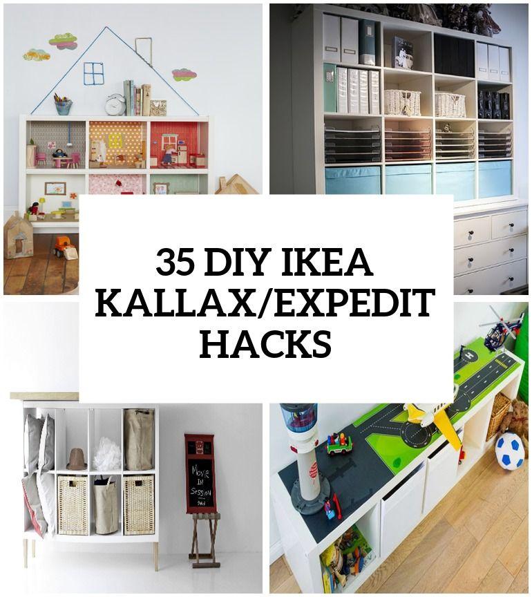 35 Diy Ikea Expedit Kallax Hacks You Should Try Cover Kallax