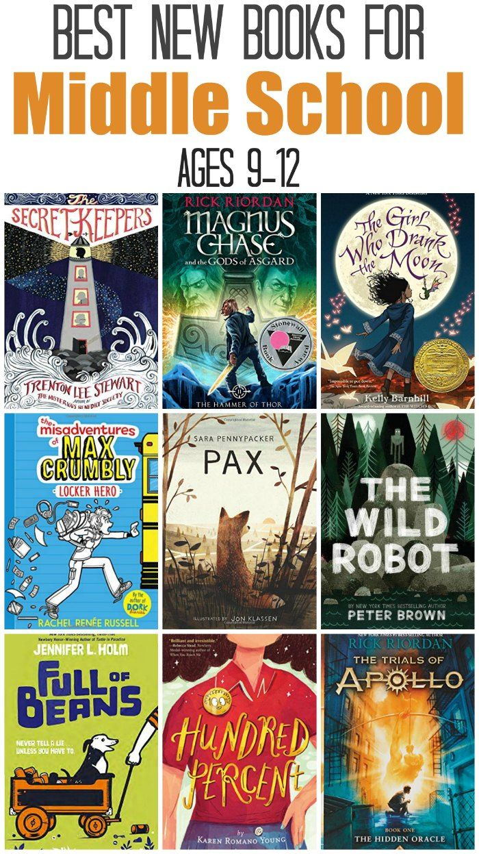 Best New Middle School Reading Books, for ages 12 12   The Jenny ...