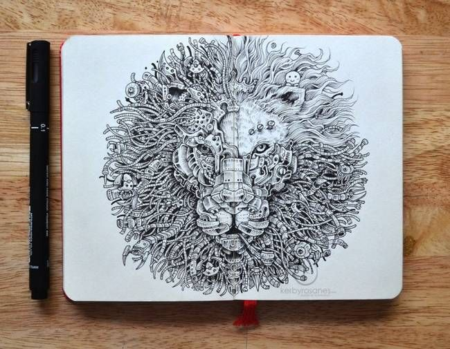 sketch by Kerby Rosanes