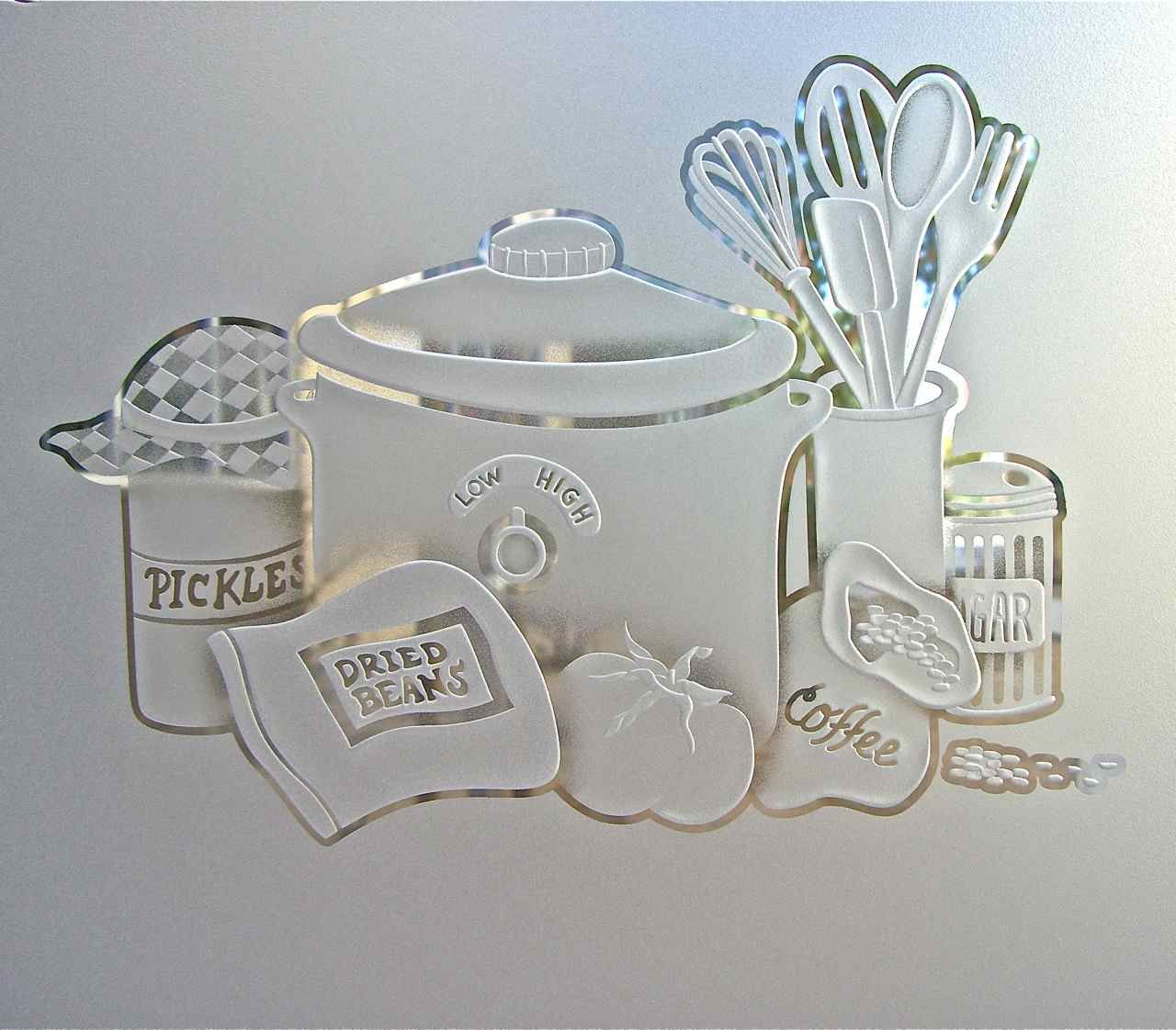 Explore Kitchen Pantries, Kitchen Storage, And More! Glass Pantry Doors  Dimensional 3d Etched ...