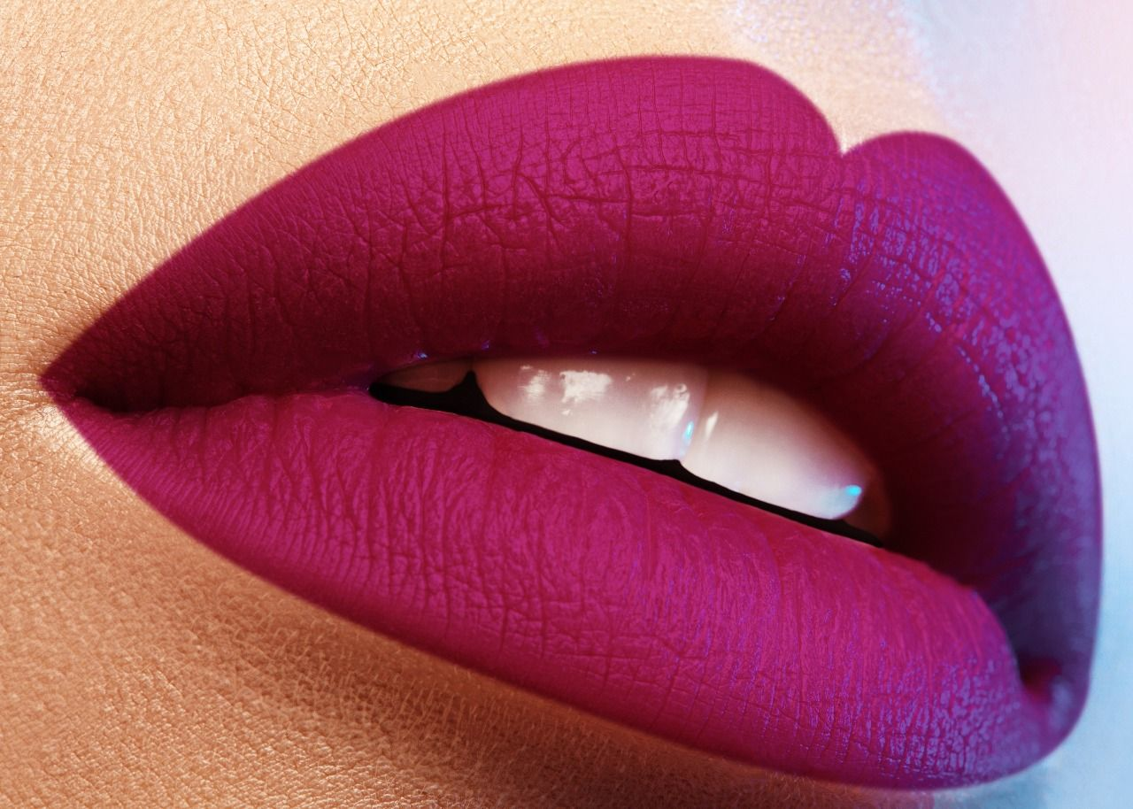 INR 550/ Spekta Matte lipstick Siren This beautiful plum