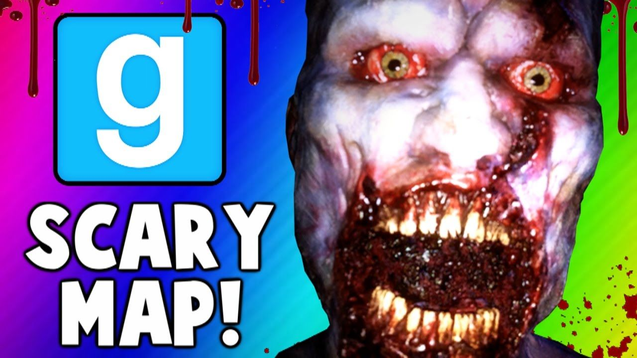 Gmod Scary Maps 5 - Intense Jump Scare,