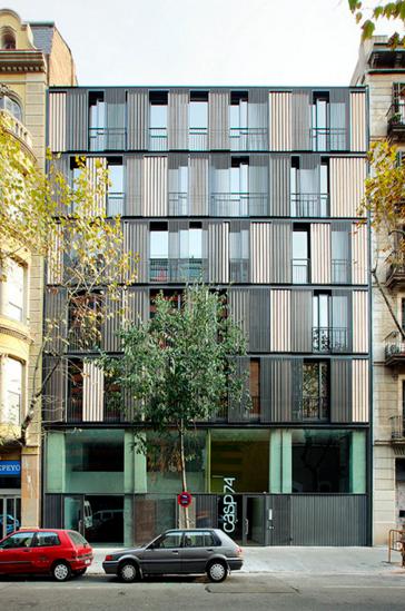 Arquitectos · Edificio De Viviendas CASP 74 En Barcelona