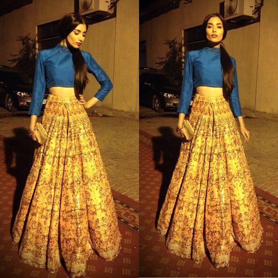 40f61ef8263b Zara Peerzada in Ali Xeeshan | Indian Couture!!! | Ali xeeshan ...