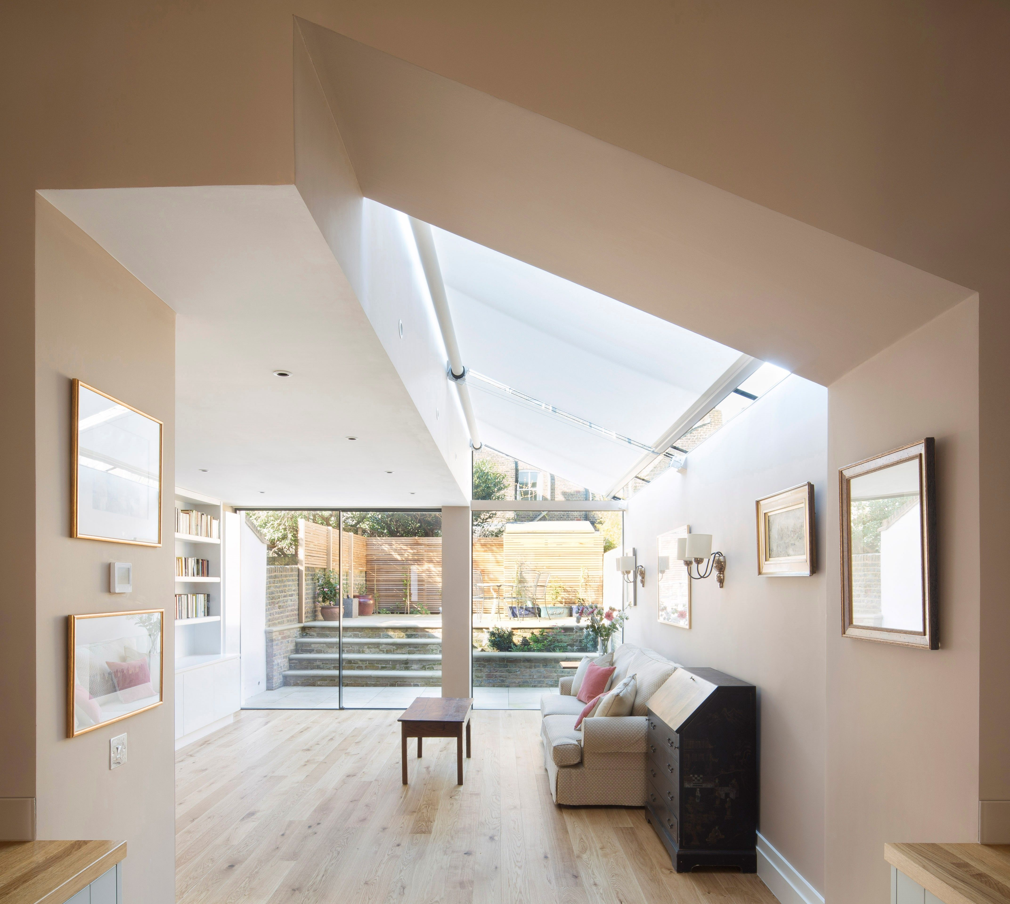 Contemporary Extension to Victorian Terraced Home #rearextension