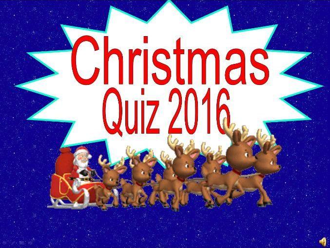 ultimate christmas quiz 2016 for ks2 ks3