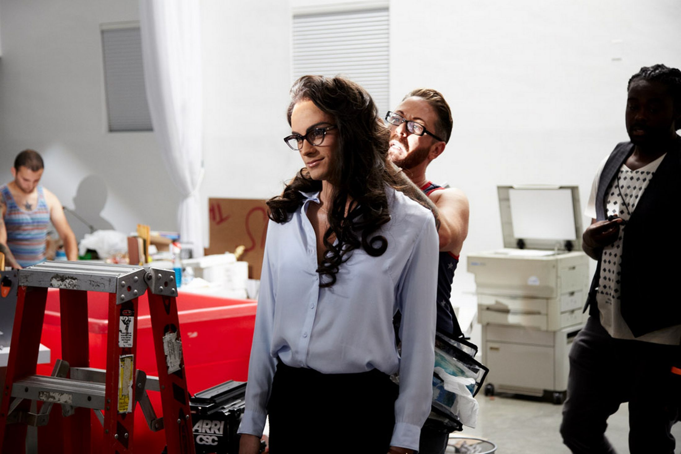 Zayn malik cross dresses as sexy secretary in best song ever one direction best song ever video zayn dressed as sexy secretary thecheapjerseys Image collections