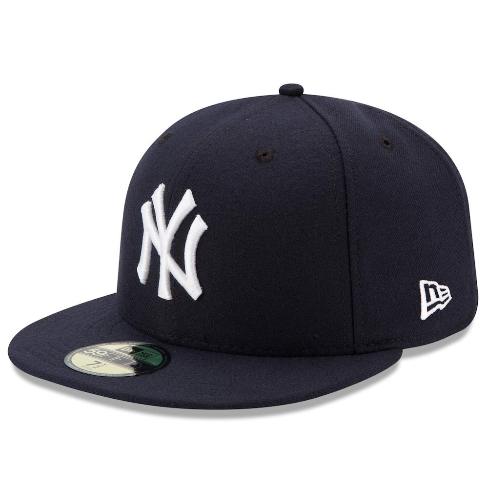 Men S New Era Navy New York Yankees Game Authentic Collection On Field 59fifty Fitted Hat Size 7 Blue New York Yankees Game New York Yankees New York Yankees Baseball