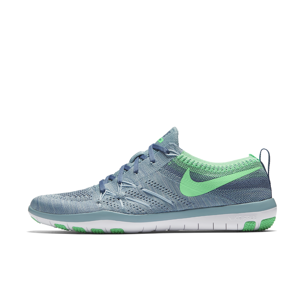 promo code 8c949 1c6b2 Nike Free TR Focus Flyknit Women s Training Shoe Size 11.5 (Blue) -  Clearance Sale