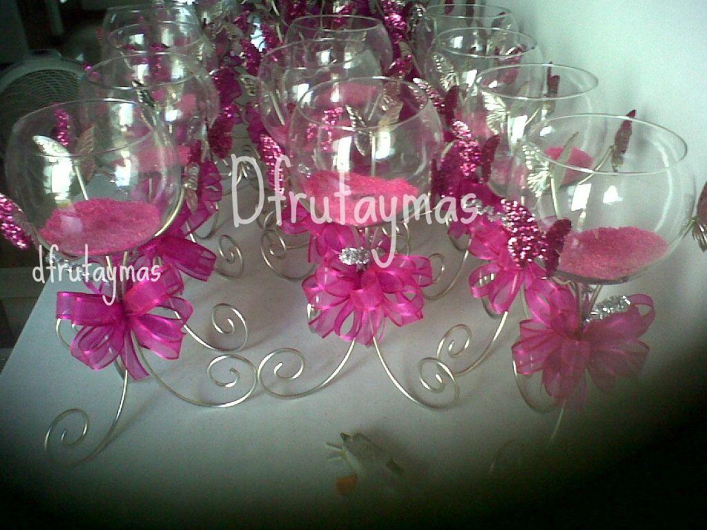 Centros de mesa con mariposas para quinceaneras - Imagui | quince ...
