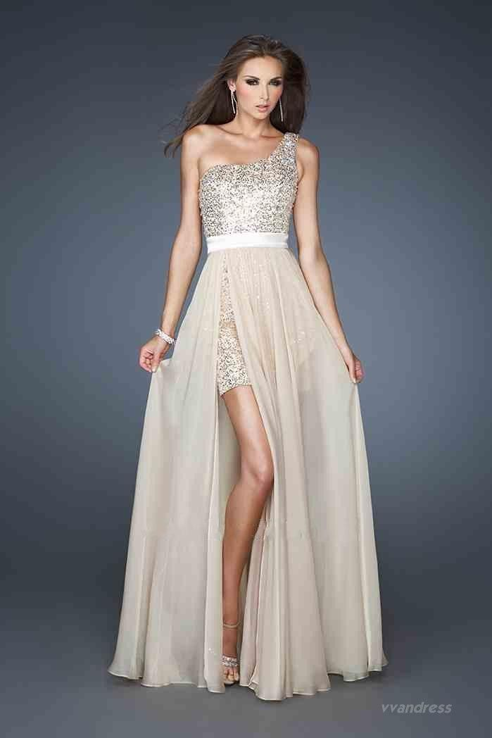 sequence bridesmaid dresses | ... One-shoulder with Sequins and ...