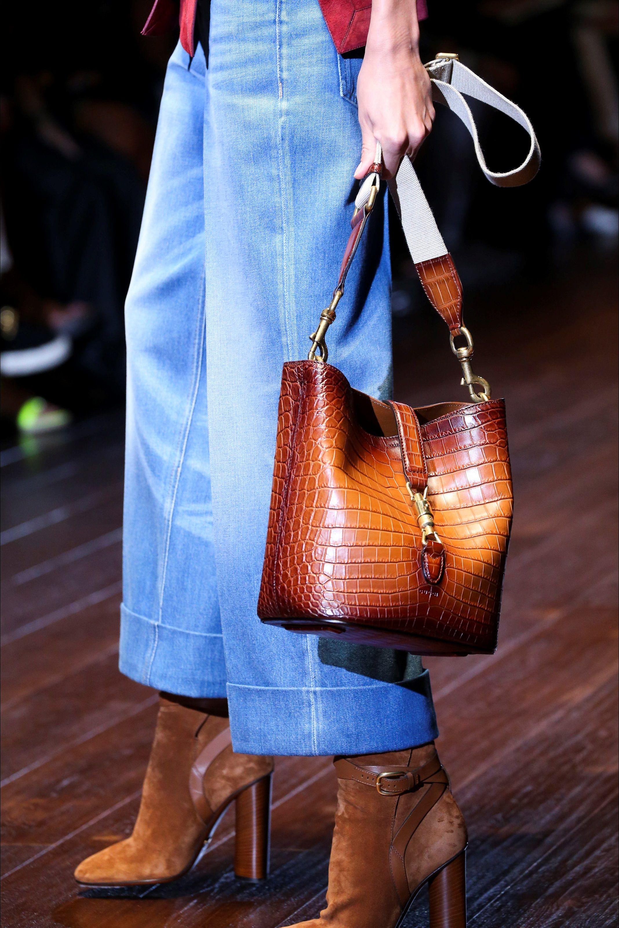 Love this denim color! Gucci Milano -  Collezioni Primavera Estate Spring Summer 2015 - Vogue