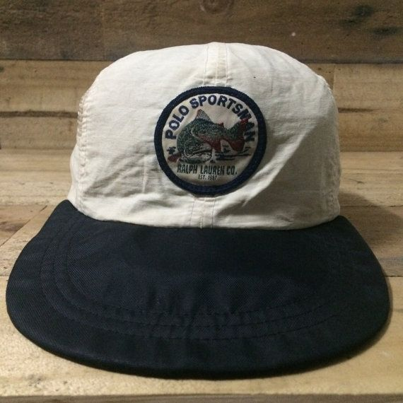 22243588638c4 Vintage Polo Ralph Lauren Polo Sportsman Hat