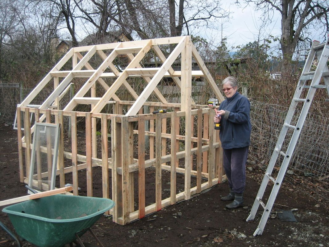 Pallet Greenhouse Pallets