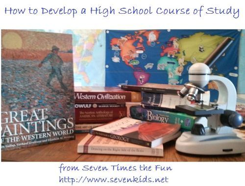 How To Develop A High School Course Of Study High School Courses Homeschool High School High School