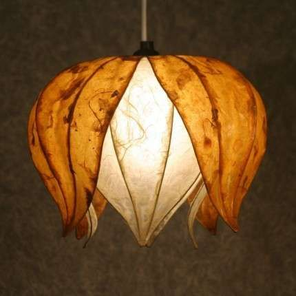 Hanging Lamp Shade   Photo. What A Creative Way To Light Up .