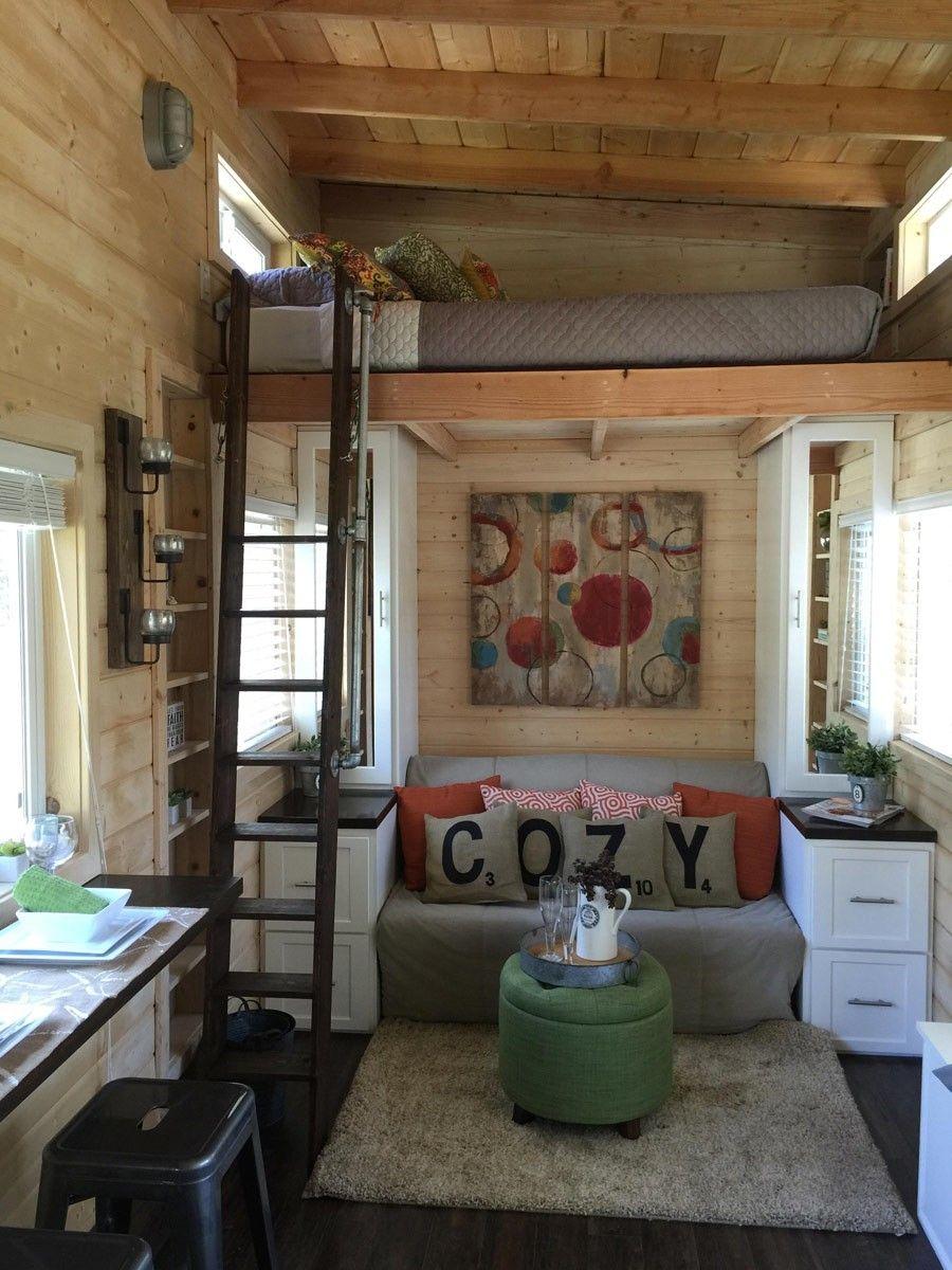 270 Sq. Ft. La Mirada Tiny House on Wheels For Sale Tiny
