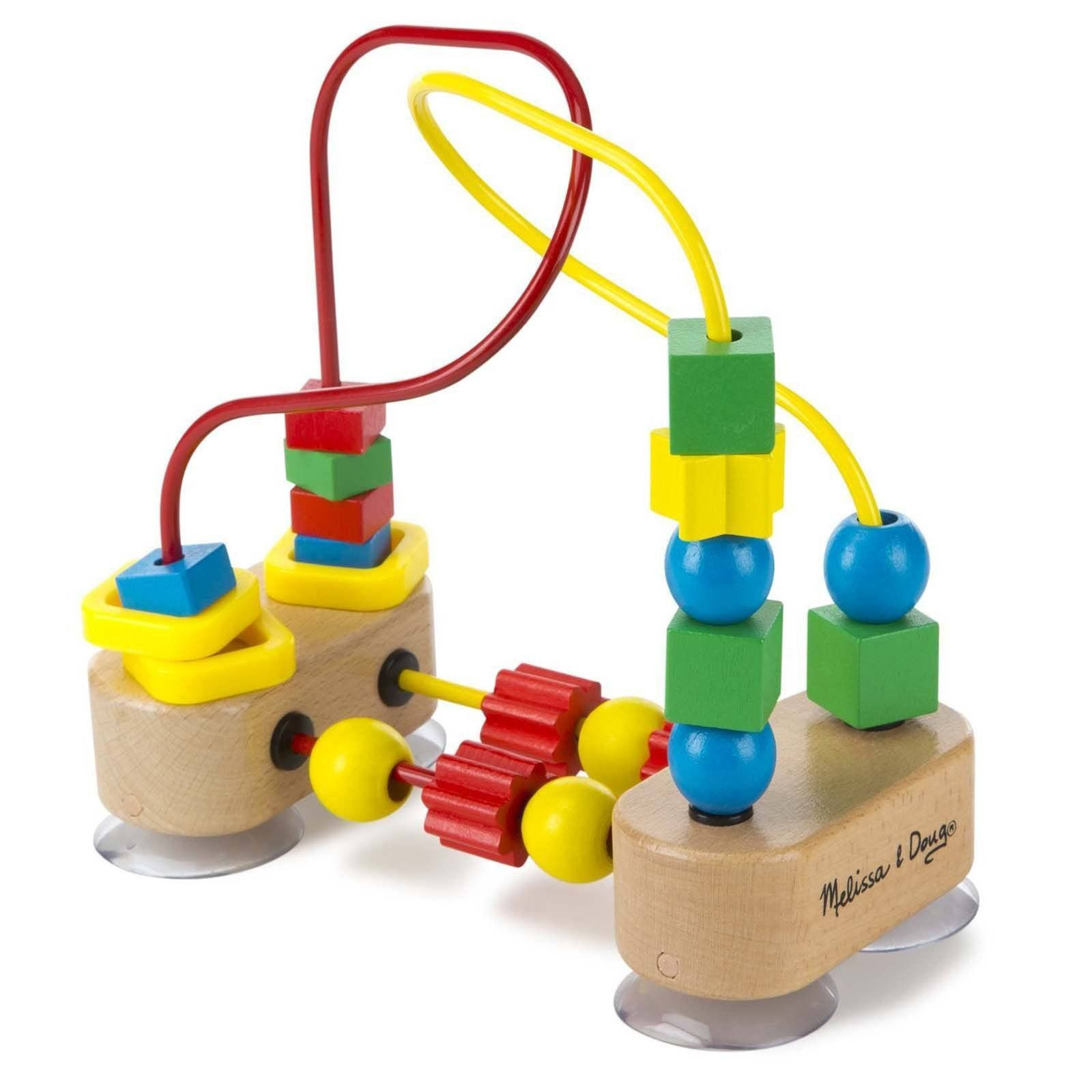 Melissa And Doug Classic Toy First Bead Maze Play Set